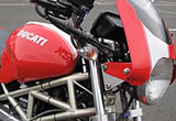 DUCATI Monster mini Debut !?の画像