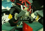 紙模型:Super Sports motorcycle Ducati desmosedici (Paper model)の画像