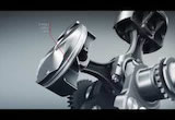 Ducati 1199 Superleggera: Superquadro engine 3D Videoの画像