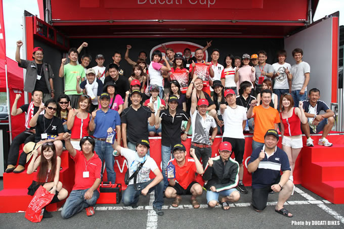 DUCATI CUP 2009 WESTの画像