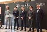 イタリア大使館で開催されたプレスカンファレンス「MORE THAN RED」レポートの画像