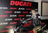 #002 JUNON スーパーボーイコンテストに DUCATI が協賛の画像