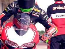 Davide Giugliano and the Panigale Rの画像