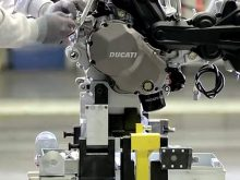 New Multistrada 1200 – Assembly videoの画像