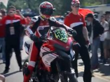 The Ducati Multistrada wins the 2012 Pikes Peak International Hill Climbの画像