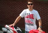 Nicky Hayden takes delivery of his own Nicky Hayden Edition 848の画像