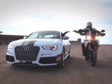 Audi & Ducati #ComeTogether at Pikes Peakの画像