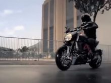 The new Ducati Diavel: Hard to be seen.の画像