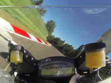 Ducati 899 Panigale onboard videoの画像