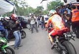 Nicky Hayden Rides Ducati in Jakarta Cityの画像