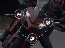 Ducati Multimedia System on New Ducati Multistrada 1200の画像