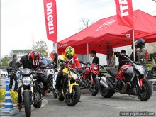 Ducati Test Ride Caravan in 新西宮ヨットハーバー イベントレポートの画像
