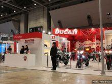 第41回 東京モーターサイクルショー2014 ドゥカティ ブースレポートの画像