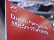 ドゥカティ・パニガーレV4メディアワークショップレポートの画像