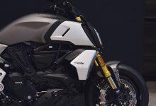 スーパーバイクとスポーツネイキッド、クルーザーをブレンドした新型ディアベル1260プレスカンファレンスの画像